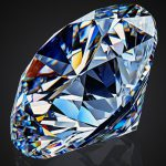 an over 51 carat round brilliant diamond of Alrosa