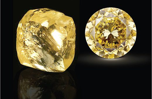Mouawad Cuts Record Yellow Diamond